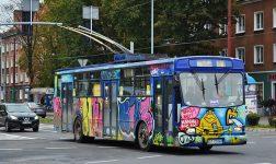 Dzień Dziecka z Tyskimi Liniami Trolejbusowymi na Baczyńskiego