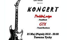 Koncert PierMieLaciym i GTX w Tawernie