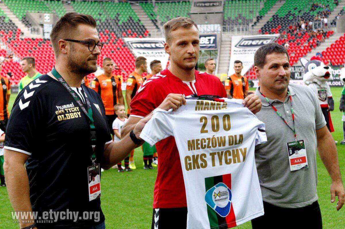 Piłka nożna: GKS Tychy – Chrobry Głogów (2018.07.28) [galeria]