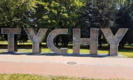Napis Tychy z ławką do robienia zdjęć, pomysł na wizytówkę miasta