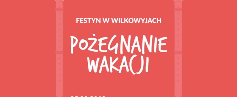 """""""Pożegnanie Wakacji"""", festyn osiedlowy w Wilkowyjach"""