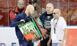 Hokej: Inauguracja ligi i podziękowania dla Michała Woźnicy [foto]