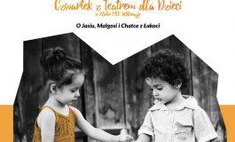 Czwartek z Teatrem dla Dzieci w Wilkowyjach: O Jasiu, Małgosi i Chatce z Łakoci