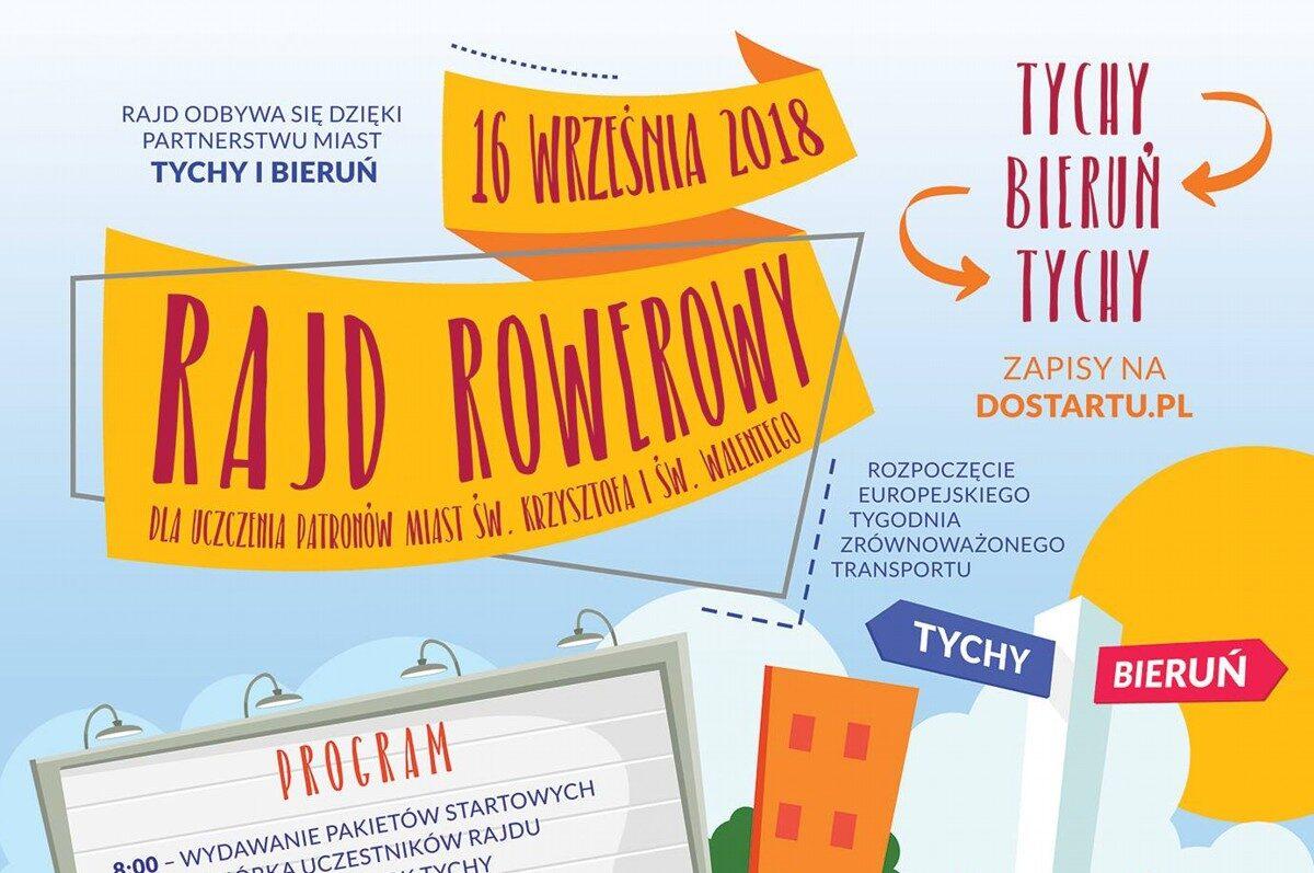 Partnerski Rajd Rowerowy Tychy – Bieruń – Tychy