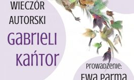 Wieczór autorski Gabrieli Anny Kańtor w Orionie