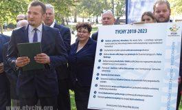Stowarzyszenie Tychy Naszą Małą Ojczyzną przedstawiło program wyborczy [FOTO]