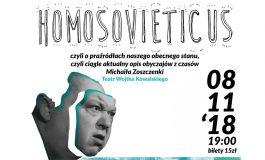 Czwartek z Teatrem dla Dorosłych w Wilkowyjach: Homosovieticus