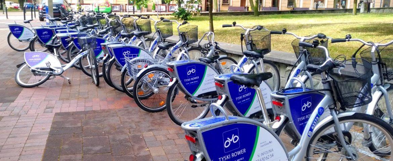 Udany sezon Tyskiego Roweru Miejskiego – wypożyczalnie czynne do środy