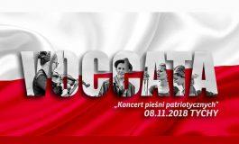 Koncert pieśni patriotycznych w Tęczy