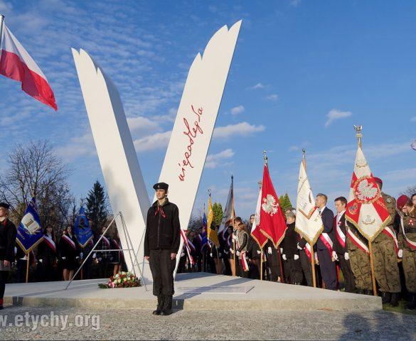 Tyszanie uczcili setną rocznicę odzyskania niepodległości [FOTO]