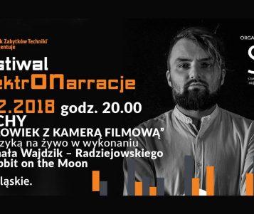 """Projekcja filmu """"Człowiek z kamerą filmową"""" z muzyką na żywo w Browarze Obywatelskim"""