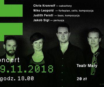 Niko Leopold Quartet w Teatrze Małym