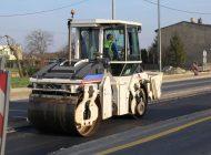 Nowy asfalt na DK 44 jeszcze przed zimą