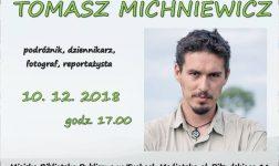 Świat na wyciągnięcie ręki - Tomasz Michniewicz w MBP