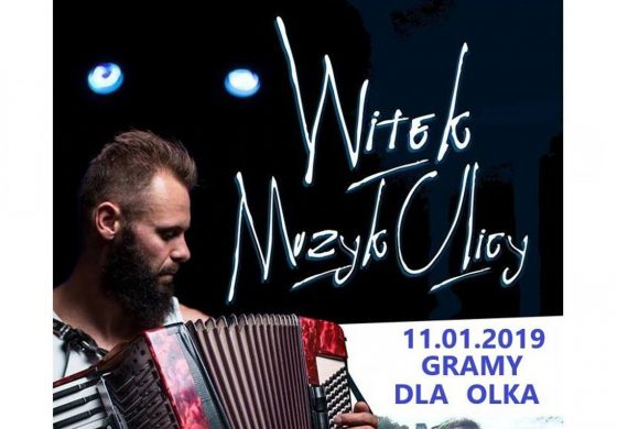 """Witek Muzyk Ulicy """"Gramy dla Olka"""" w Underground"""