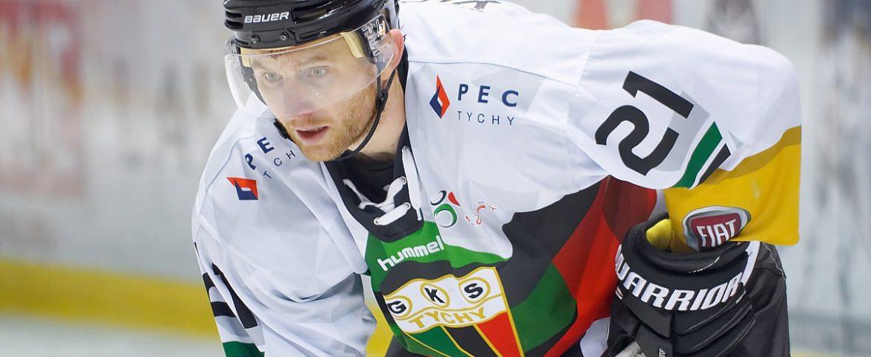 Hokej: Alexei Yefimenko w Tychach, snajper z Białorusi wzmocnił GKS