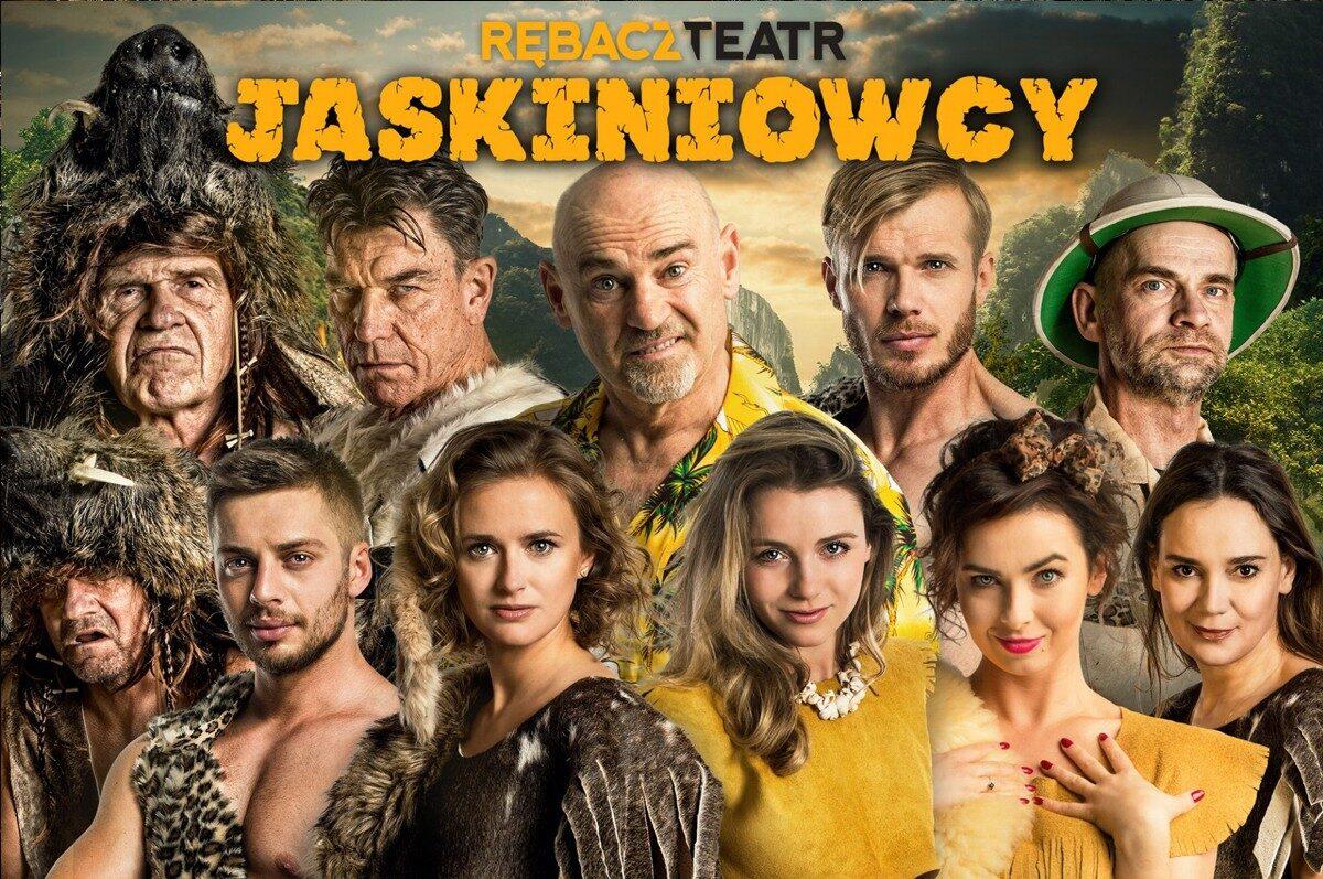 """""""Jaskiniowcy"""" w Teatrze Małym"""