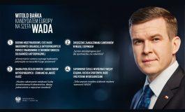 Witold Bańka został europejskim kandydatem na szefa Światowej Agencji Antydopingowej