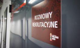 Wolontariusze na Mistrzostwa Świata U20, rozpoczęły się rozmowy rekrutacyjne