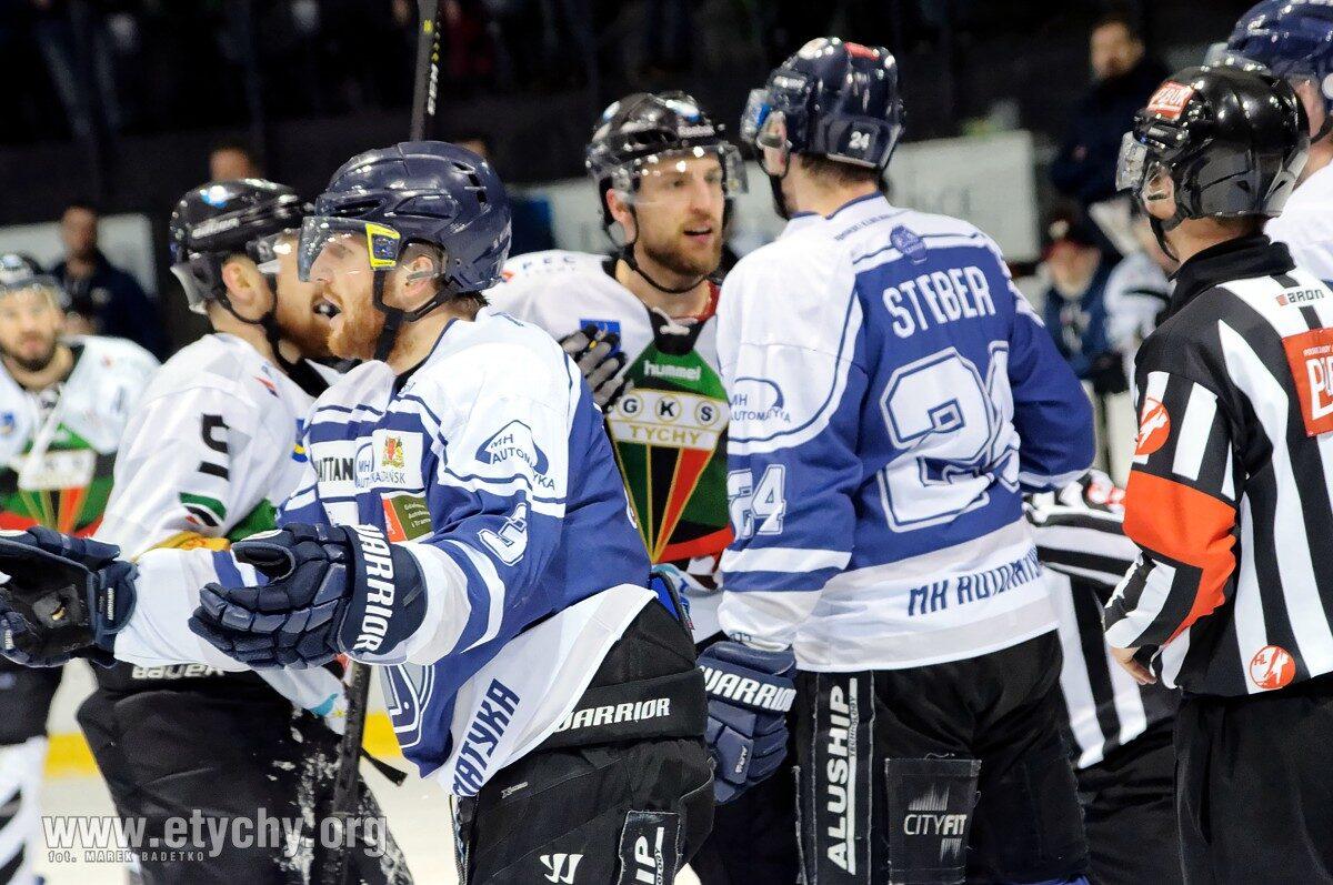Hokej play-off: GKS Tychy – MH Automatyka Gdańsk (2019.02.22) [galeria]