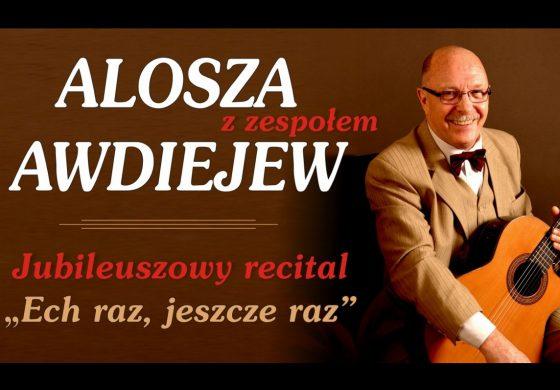 Alosza Awdiejew z zespołem w Teatrze Małym