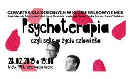Czwartek z Teatrem dla Dorosłych w Wilkowyjach: Psychoterapia