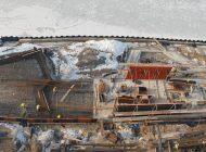 Trwa budowa Przystani Kajakowej. Wylano już większość ścian żelbetowych