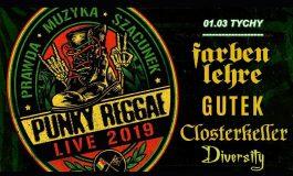 Punky Reggae live 2019 w Underground