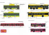 Nowa identyfikacja wizualna pojazdów Zarządu Transportu Metropolitalnego