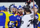 Hokej play-off: GKS Tychy wraca z Nowego Targu na tarczy