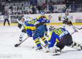 Hokej play-off: Przegrana GKS-u Tychy po złotym golu Kolusza