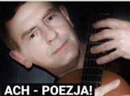 """""""Ach poezja"""" koncert Kuby Michalskiego w Tęczy"""