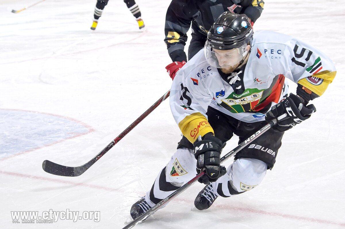 Hokej play-off: Nieudana pogoń za wynikiem. W finale GKS Tychy – Cracovia jest remis