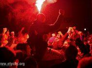 Hokej play-off: Kibice GKS-u Tychy świętują zdobycie Mistrzostwa Polski (2019.04.13) [galeria]