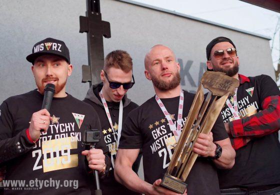 Mistrzowska feta hokeistów GKS Tychy (2019.04.16) [galeria]
