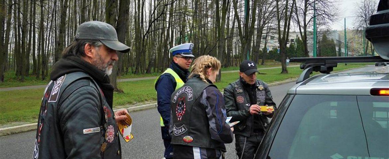 Patrz w lusterka – motocykle są wszędzie, akcja mundurowych i motocyklistów