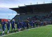 Futbol amerykański: Zacięta walka w Gdyni