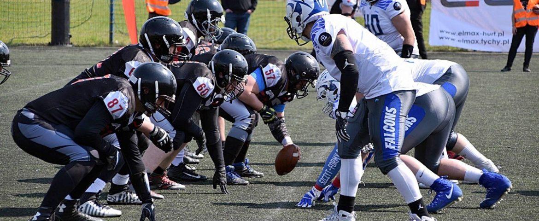Futbol amerykański: Tychy Falcons pokonują Watahę Zielona Góra 41:6
