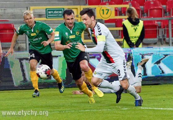Piłka nożna: Wygrana na pożegnanie. GKS Tychy - GKS Jastrzębie 2:1 [foto]