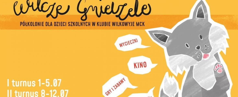 Wilcze gniazdo – Płatne półkolonie w MCK Wilkowyje