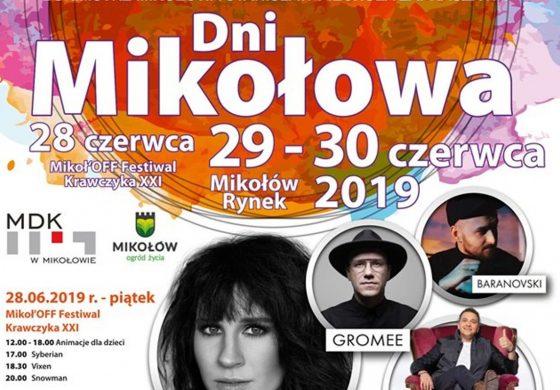 Dni Mikołowa 2019 – dzień 1