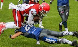 Futbol amerykański: Tychy Falcons zwyciężają 59:7