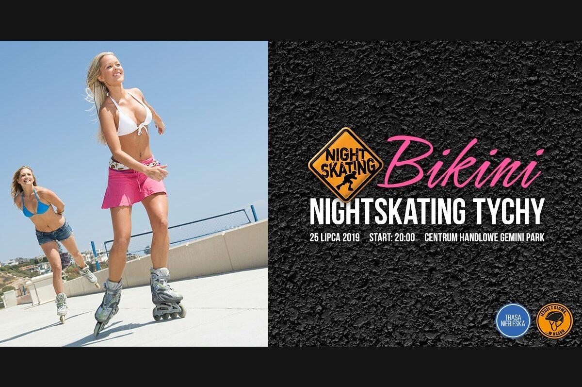 Bikini Nightskating Tychy – rolkarze przejadą ulicami Tychów