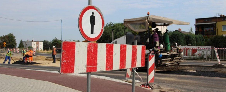 DK44: Przebudowa skrzyżowania ulicy Długiej z Oświęcimską