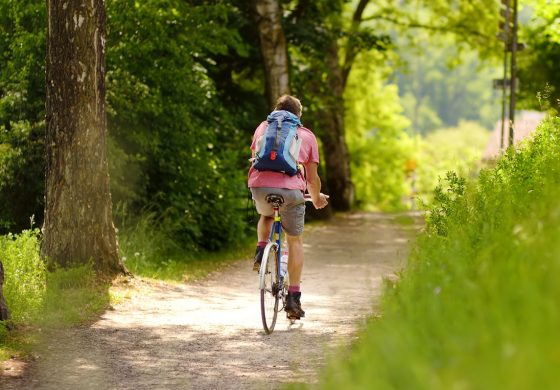 Wycieczka rowerowa na zaporę w Łące