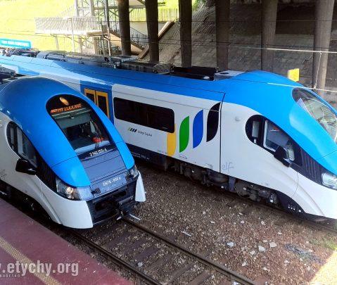 Dodatkowe pociągi na defiladę w Katowicach