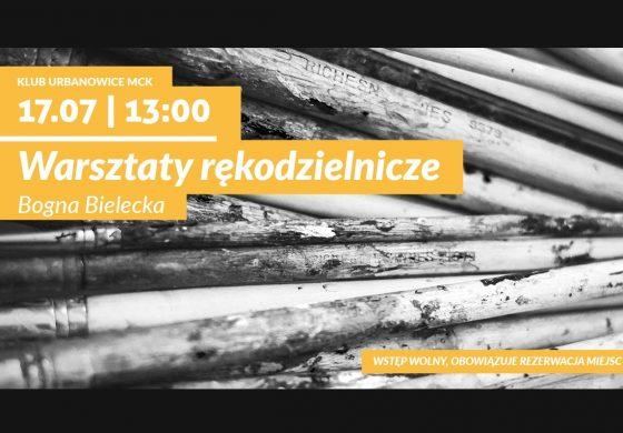 Warsztaty rękodzielnicze w Klubie Urbanowice MCK