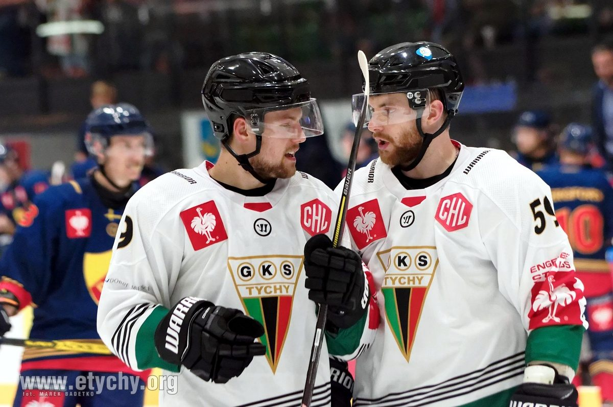Hokej CHL: Tyszanie zagrali lepiej ale znów bez trafień. Djurgarden Stockholm – GKS Tychy 2:0