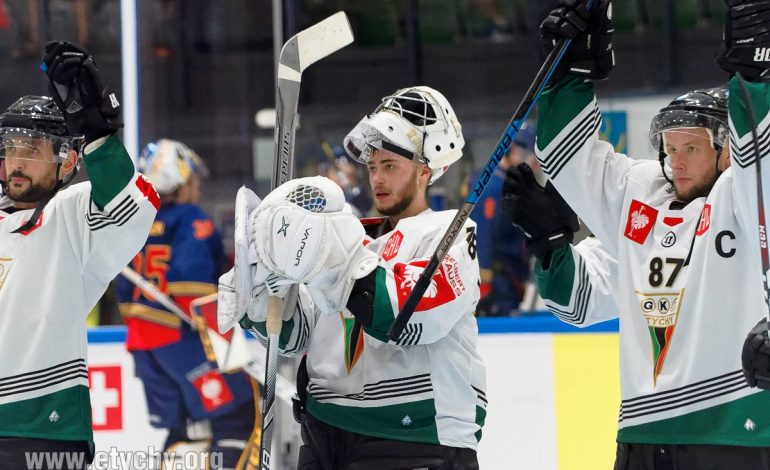 Hokej CHL: GKS Tychy - Djurgarden Stockholm 2019.08.30