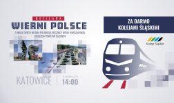 Kolejami Śląskimi za darmo na defiladę w Katowicach